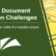 Top 5 Document Migration Challenges